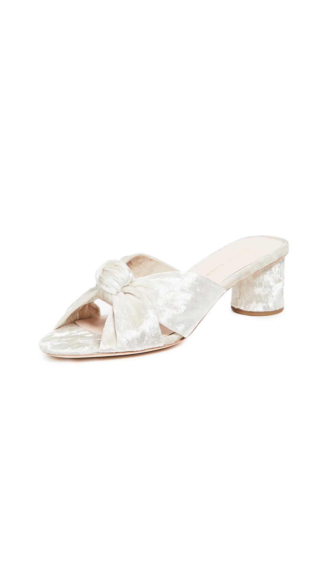 Loeffler Randall Celeste Knot Slides - Pearl