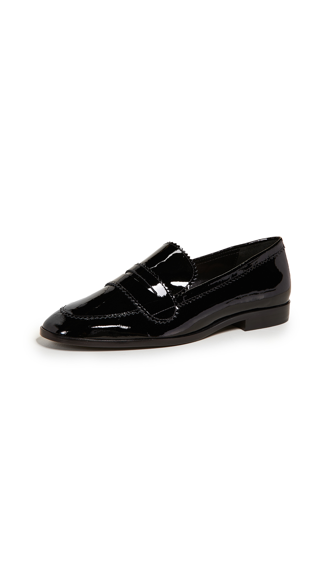 Loeffler Randall Beatrix Loafers - Black
