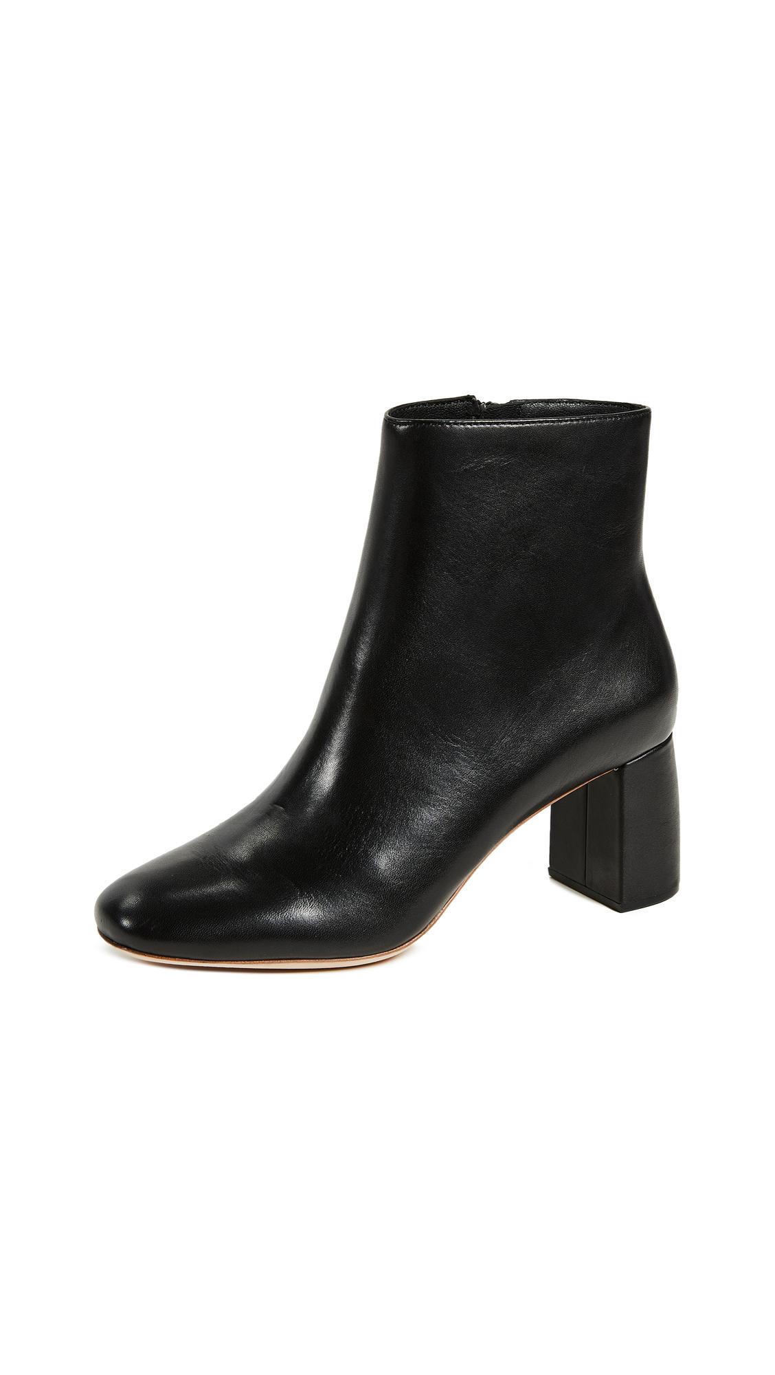 0e976d9536d6 Loeffler Randall Women S Cooper Almond Toe Leather Block High-Heel ...