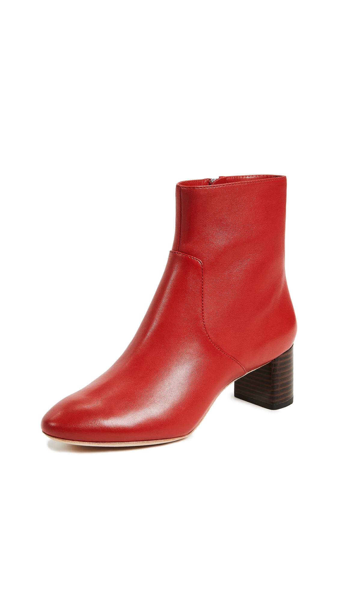 Loeffler Randall Gema Boots - Cherry Red