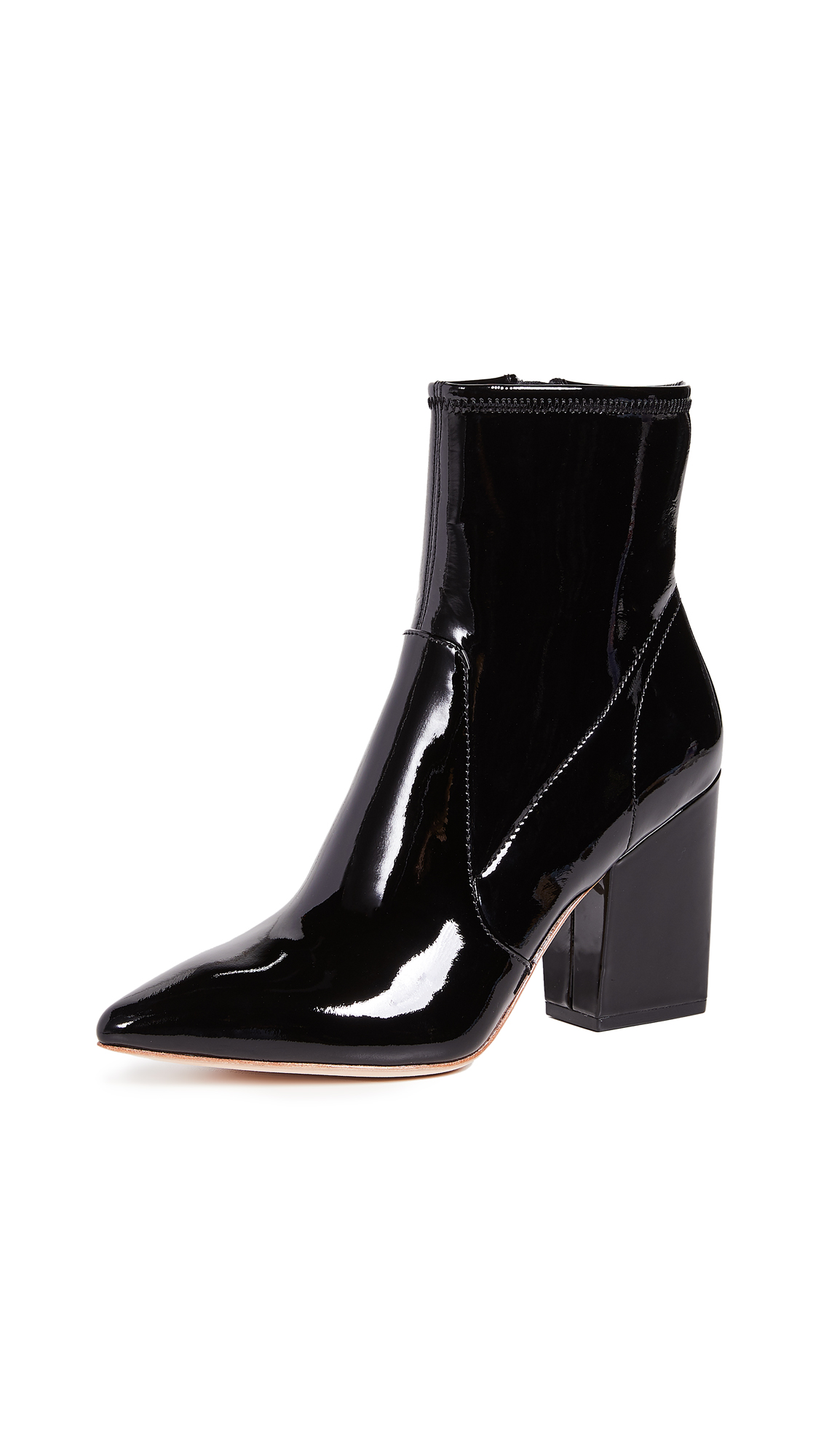 Loeffler Randall Isla Booties In Black