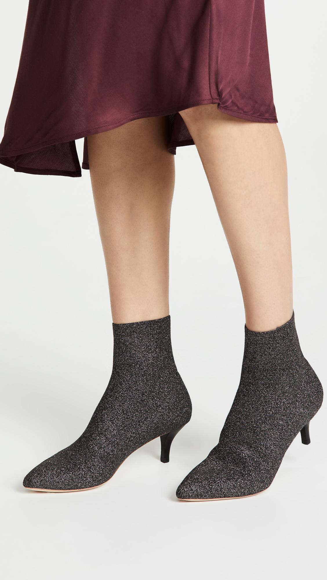 5c010a55d87 Loeffler Randall Kassidy Stretch Low Heel Booties | SHOPBOP