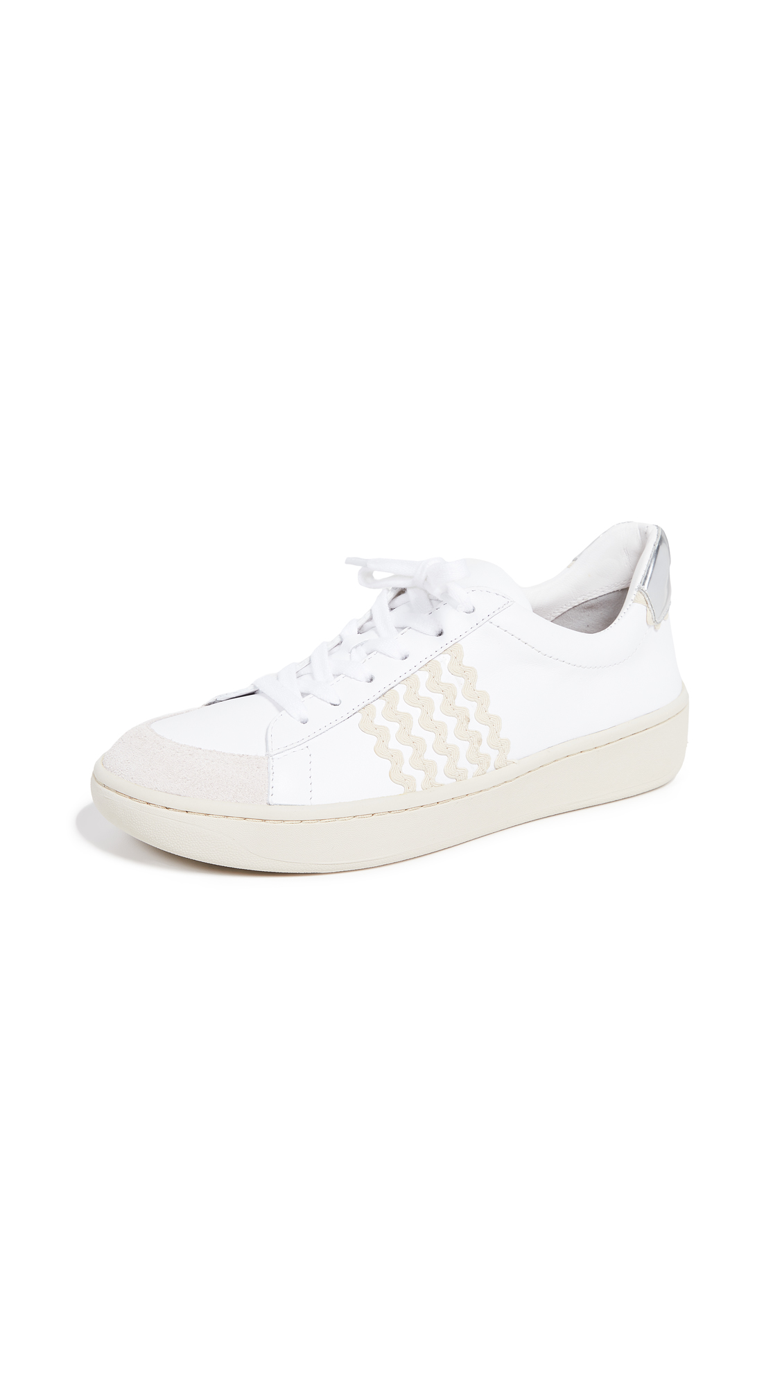 Loeffler Randall Elliot Sneakers - White/Natural