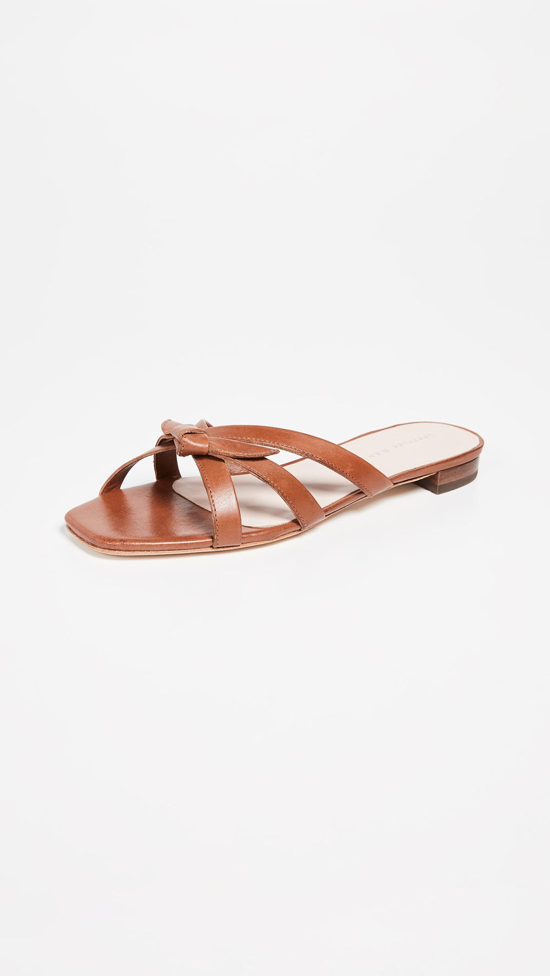 c86dea9a49bf6 Loeffler Randall Eveline Delicate Strap Flat Sandals