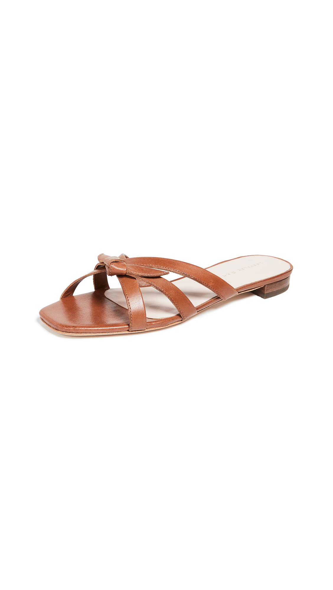 Buy Loeffler Randall online - photo of Loeffler Randall Eveline Delicate Strap Flat Sandals