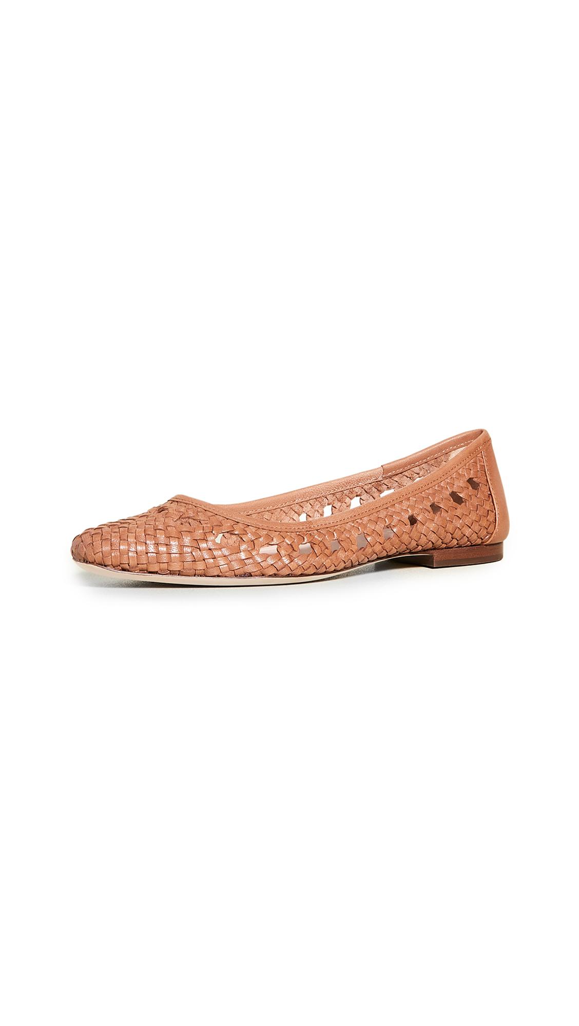 Buy Loeffler Randall Maura Woven Leather Ballet Flats online, shop Loeffler Randall