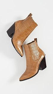 Loeffler Randall Ботильоны на каблуках в ковбойском стиле Kali