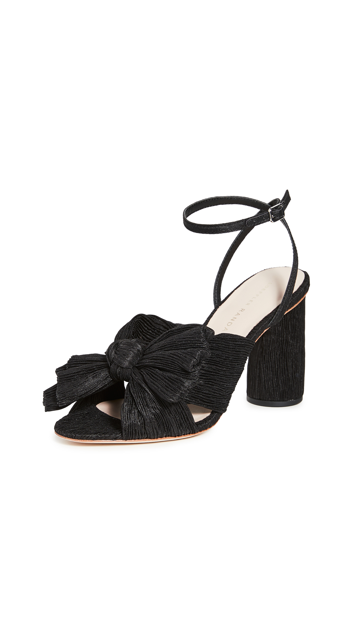 Loeffler Randall Camellia Knot Mule with Ankle Strap - 30% Off Sale