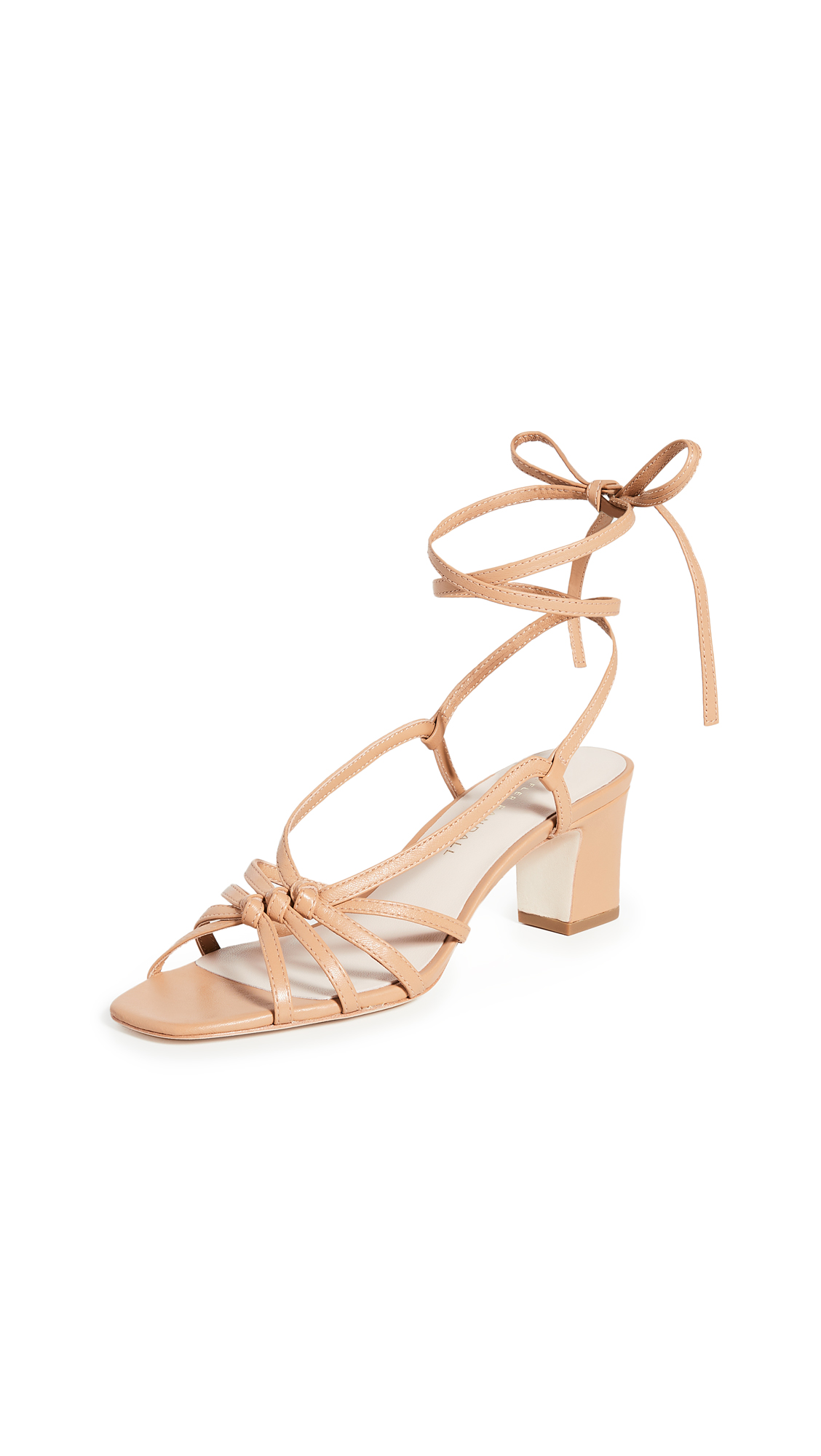 Buy Loeffler Randall Libby Knotted Wrap Heel Sandals online, shop Loeffler Randall
