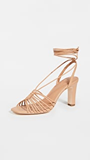 Loeffler Randall Hallie Strappy Wrap Sandals