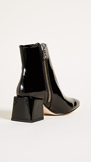 LOQ Lazaro Square Toe Booties