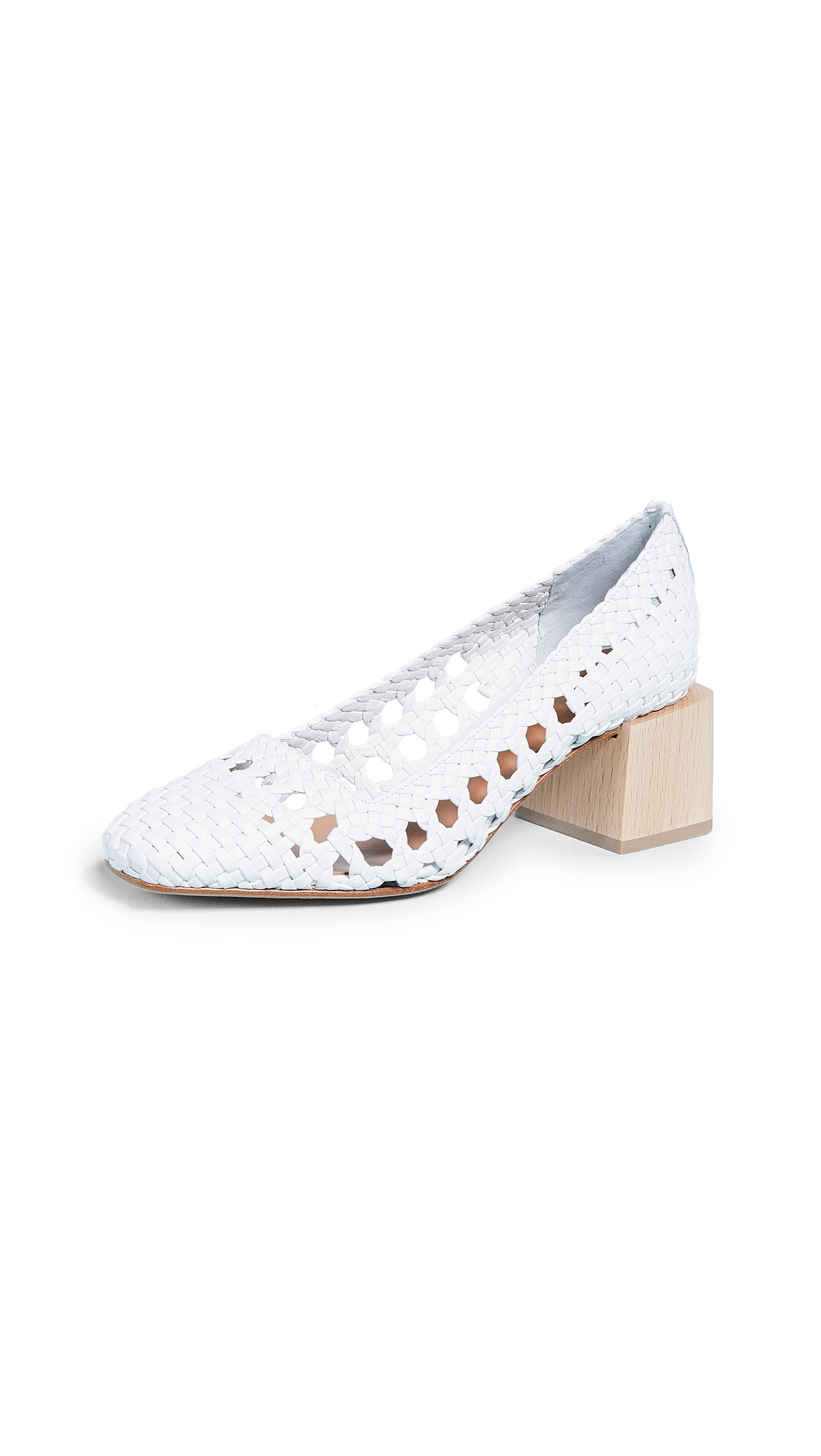 LOQ Franca Pumps - Blanco