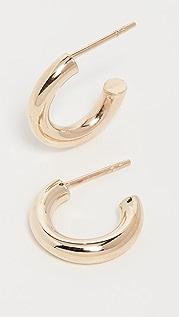 Loren Stewart 14k Chubbie Huggie Earrings