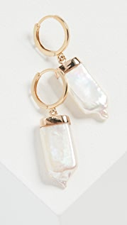 Loren Stewart 14k Pearl Paleta Earrings