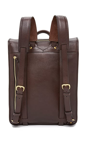 Lotuff Leather Leather Backpack