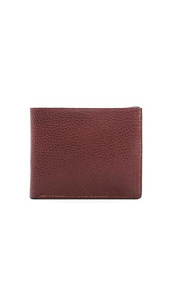 Lotuff Leather Bi-Fold Wallet