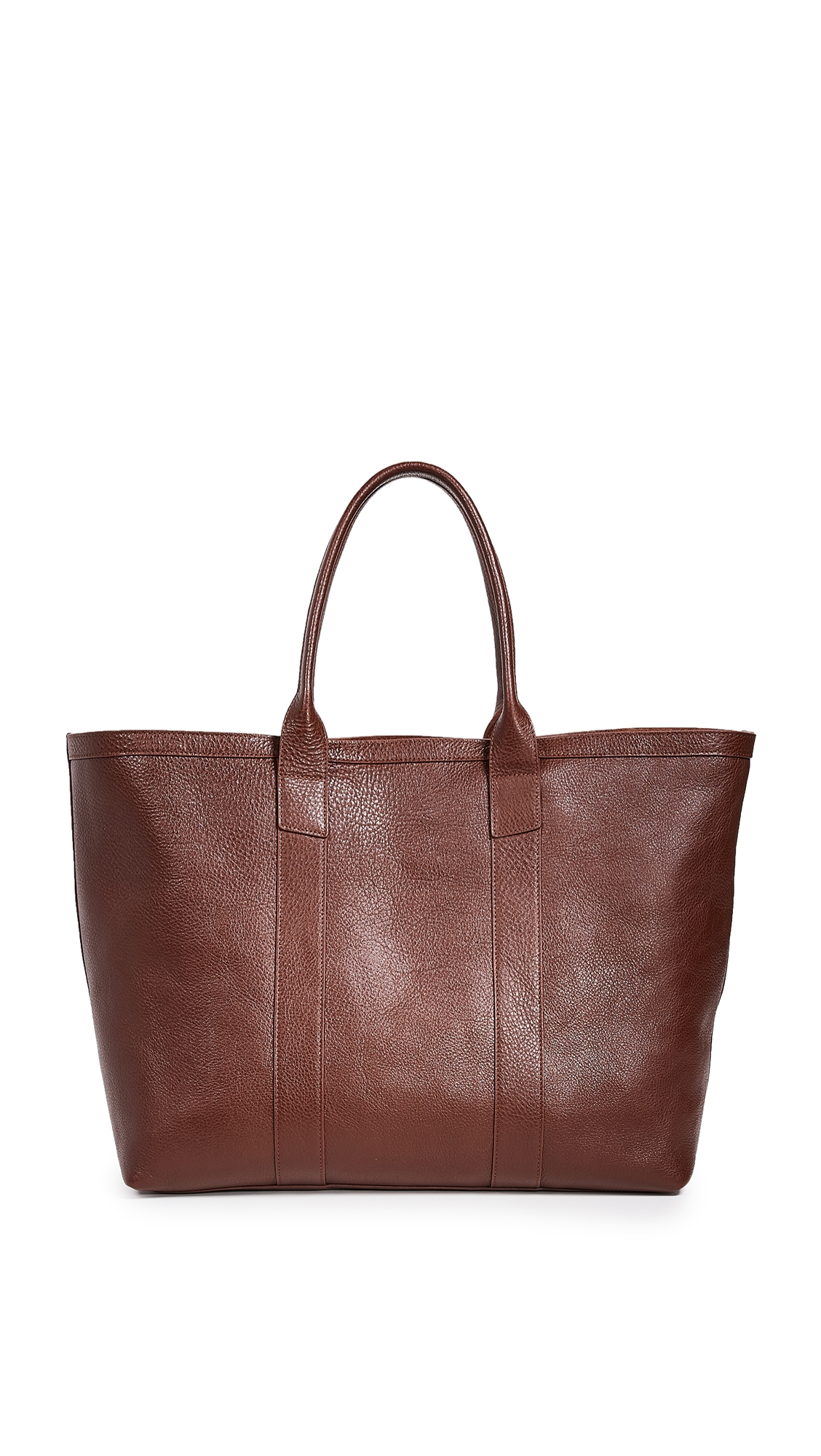LOTUFF LEATHER Leather Working Tote in Chestnut