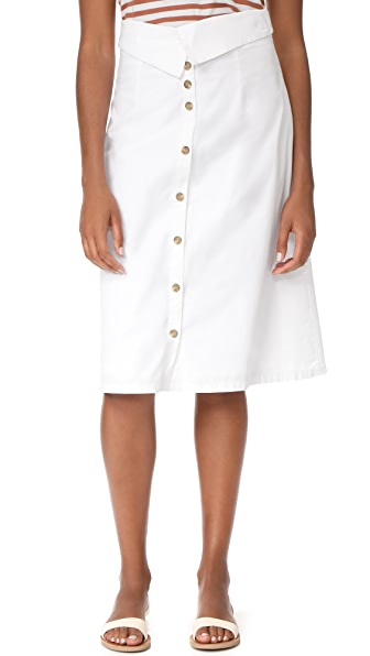 Loup Luca Skirt In White