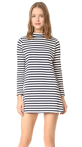 Loup Franc Dress In Stripe