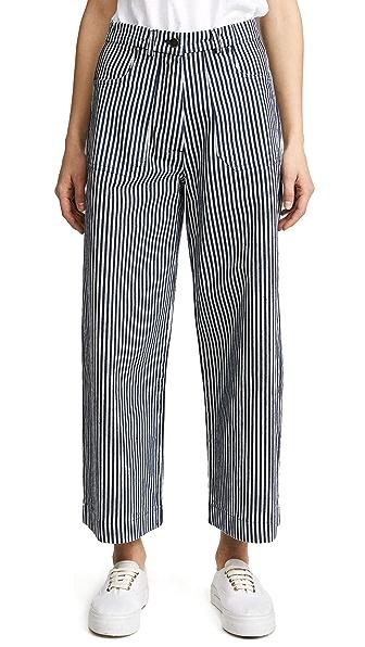 Loup Simone Jeans In Navy/White Stripe