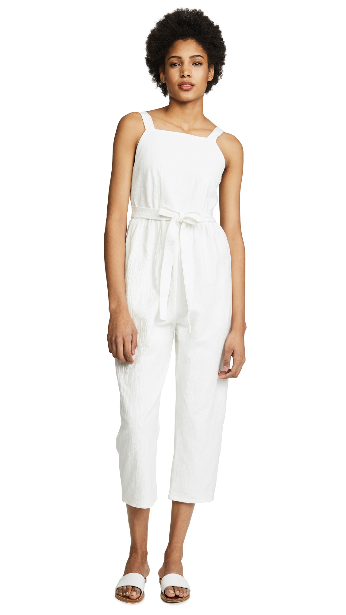 Loup Abby Jumpsuit - White