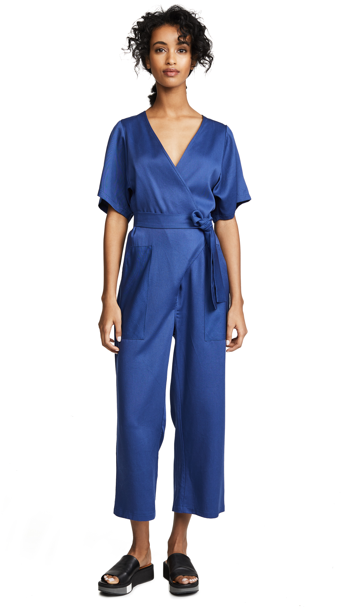 Loup Jetta Jumpsuit In French Blue