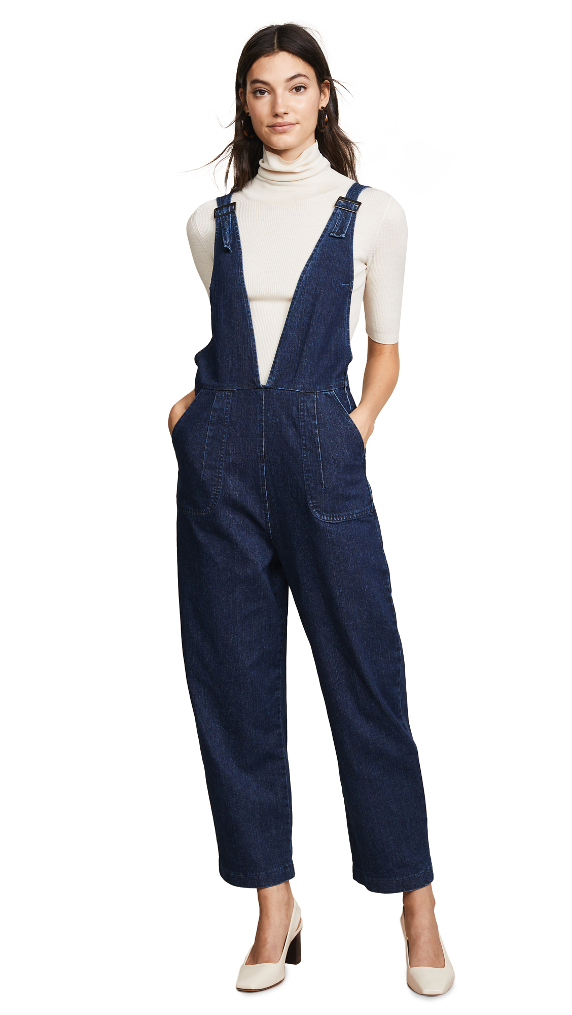 Loup Rhoda Coveralls In Dark Indigo