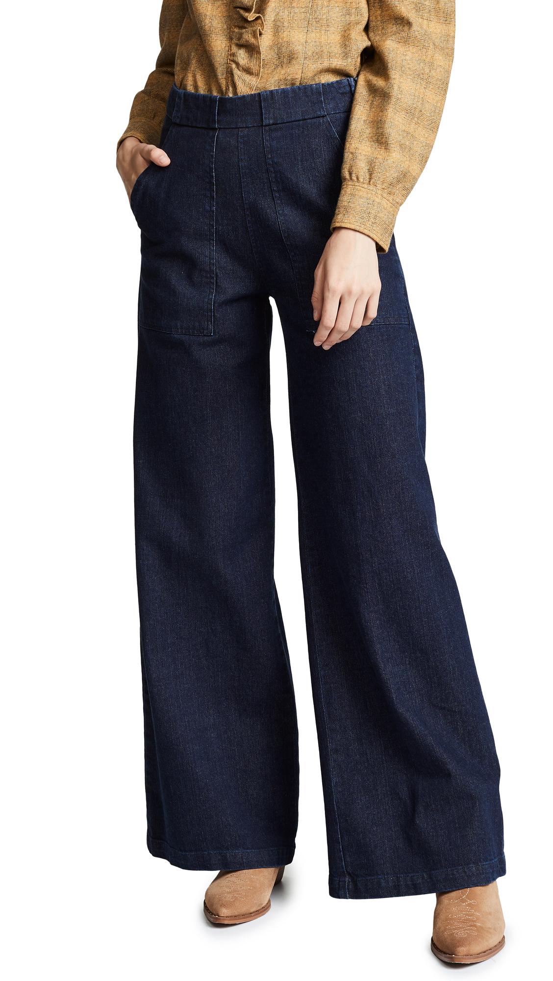 Loup Sabrina Jeans In Dark Indigo
