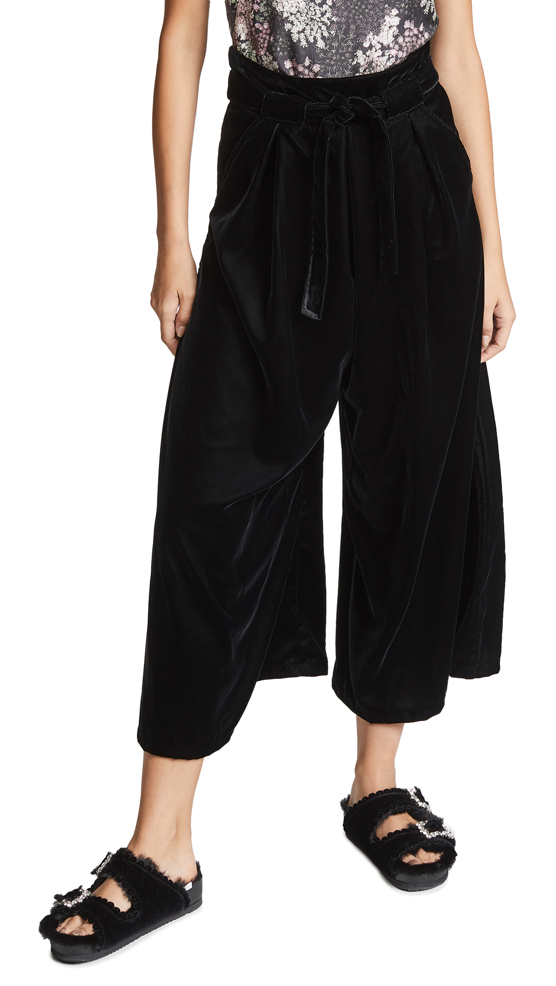 LOUP Suki Pants in Black