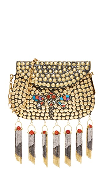 Love Binetti Roxette Cross Body Bag - Gold