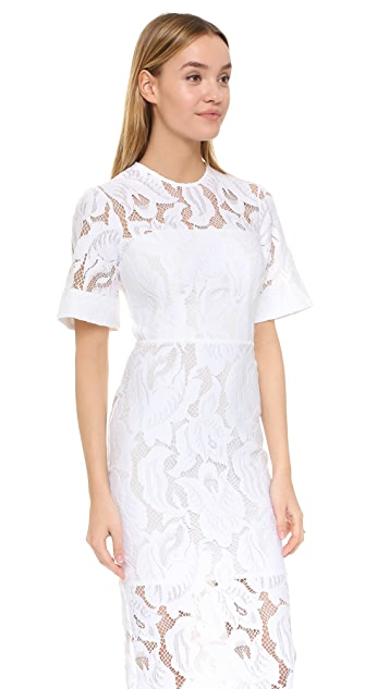 Lover Arizona Lace Fitted Dress