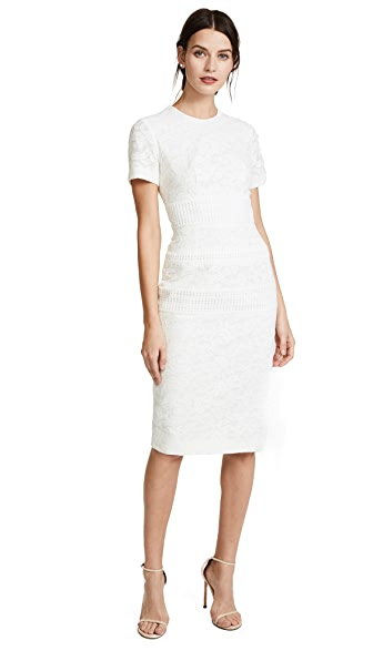 Lover Solitude Sheath Dress In White