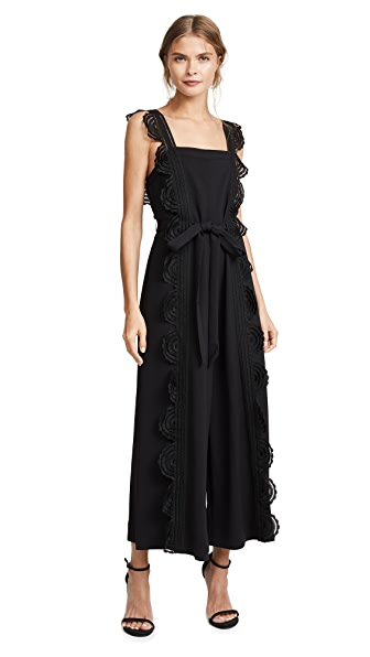 Lover Arclight Jumpsuit In Black