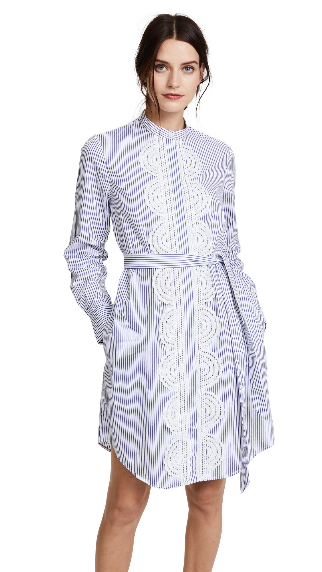 Lover Arc Shirtdress - Stripe