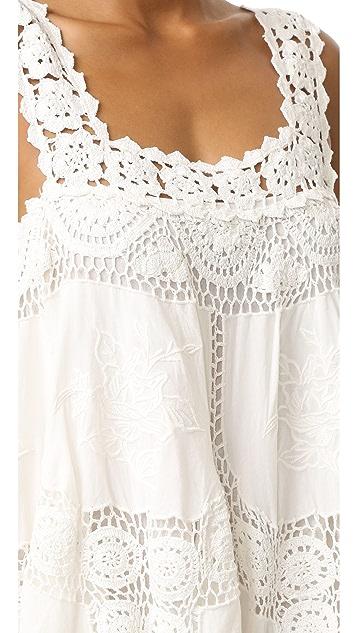 Love Sam Flower Crochet Dress
