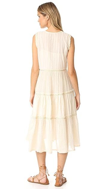 Love Sam Dress with Raw Edge Detailing