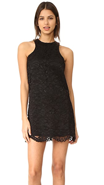 Lovers + Friends Caspian Shift Dress - Black