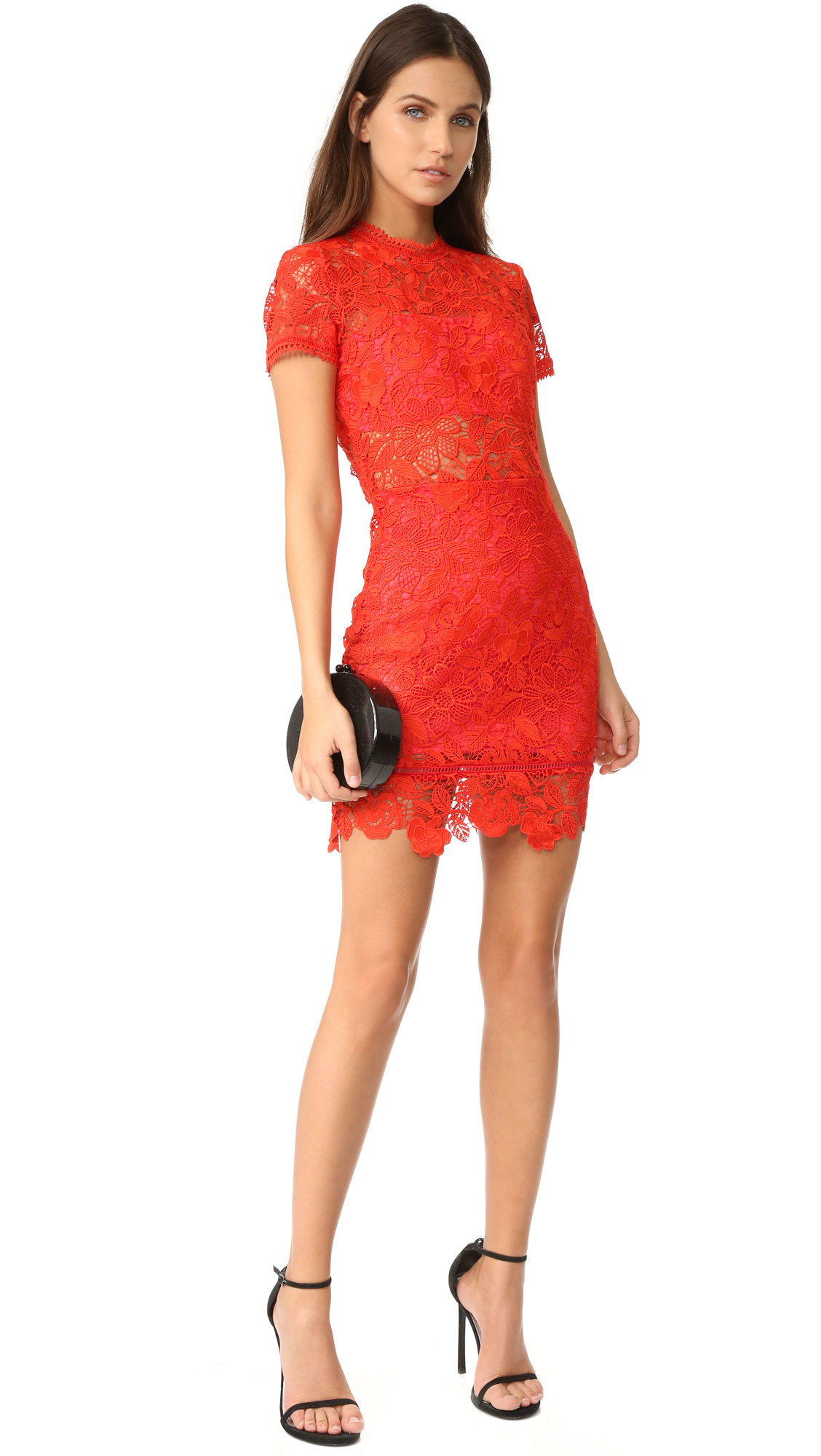 Mon Amour Dress in Red. - size XS (also in L,M,S) Lovers + Friends