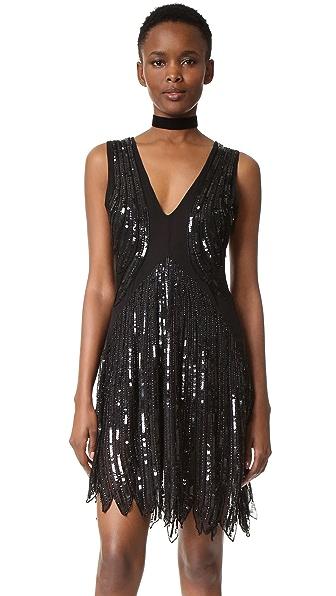 Loyd/Ford Sequin Dress - Black
