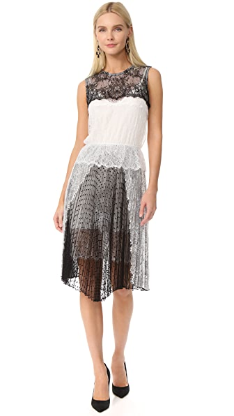 Loyd/Ford Sleeveless Lace Dress