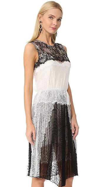 Loyd/Ford Sleeveless Lace Dress