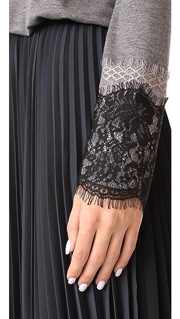 Loyd/Ford Long Sleeve Pleated Dress