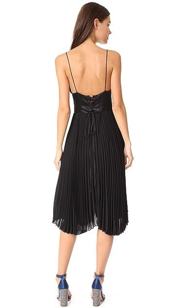 Loyd/Ford Sleeveless Pleated Dress
