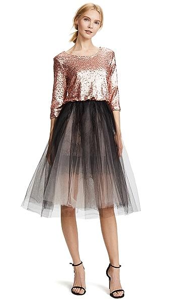 Loyd/Ford Sequin Tulle Petticoat Dress