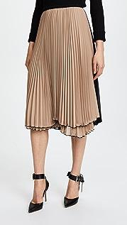 Loyd/Ford Двухцветная юбка в складку