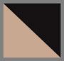 серо-коричневый/черный