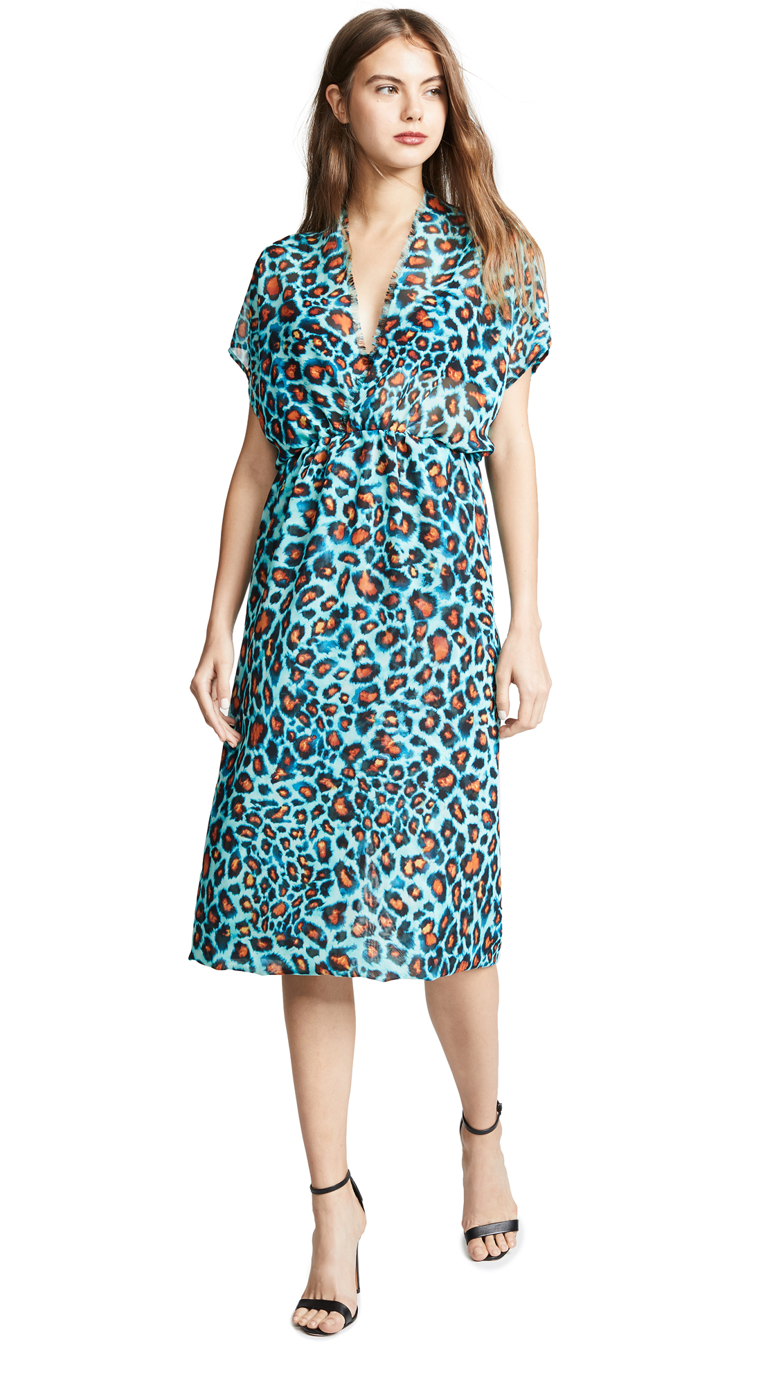 Loyd/Ford Electric Leopard Dress