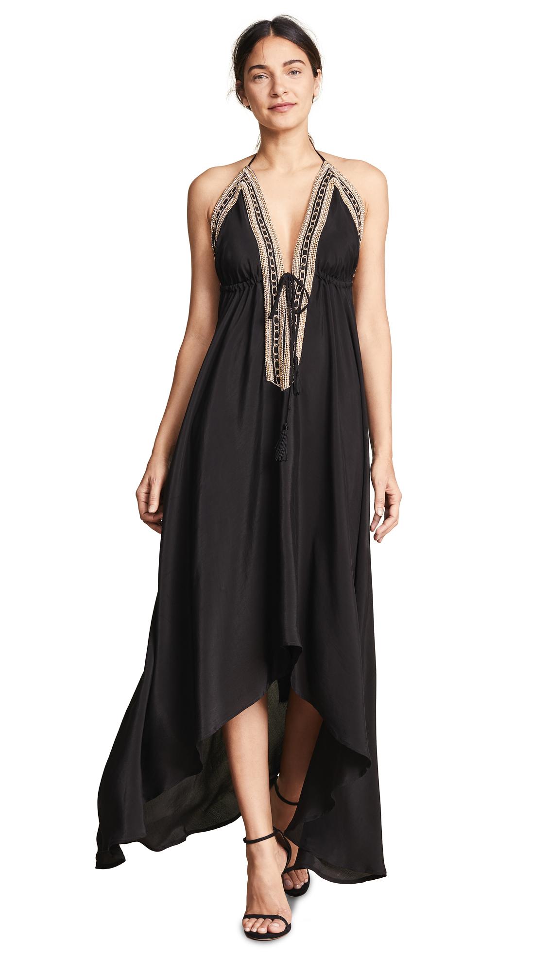 Loyd/Ford Beaded Maxi Dress