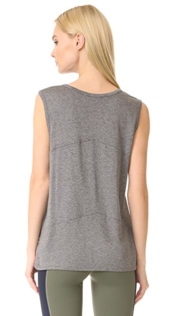 LIVE THE PROCESS Linear Muscle Tee
