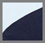 черный ирис/голубая волна